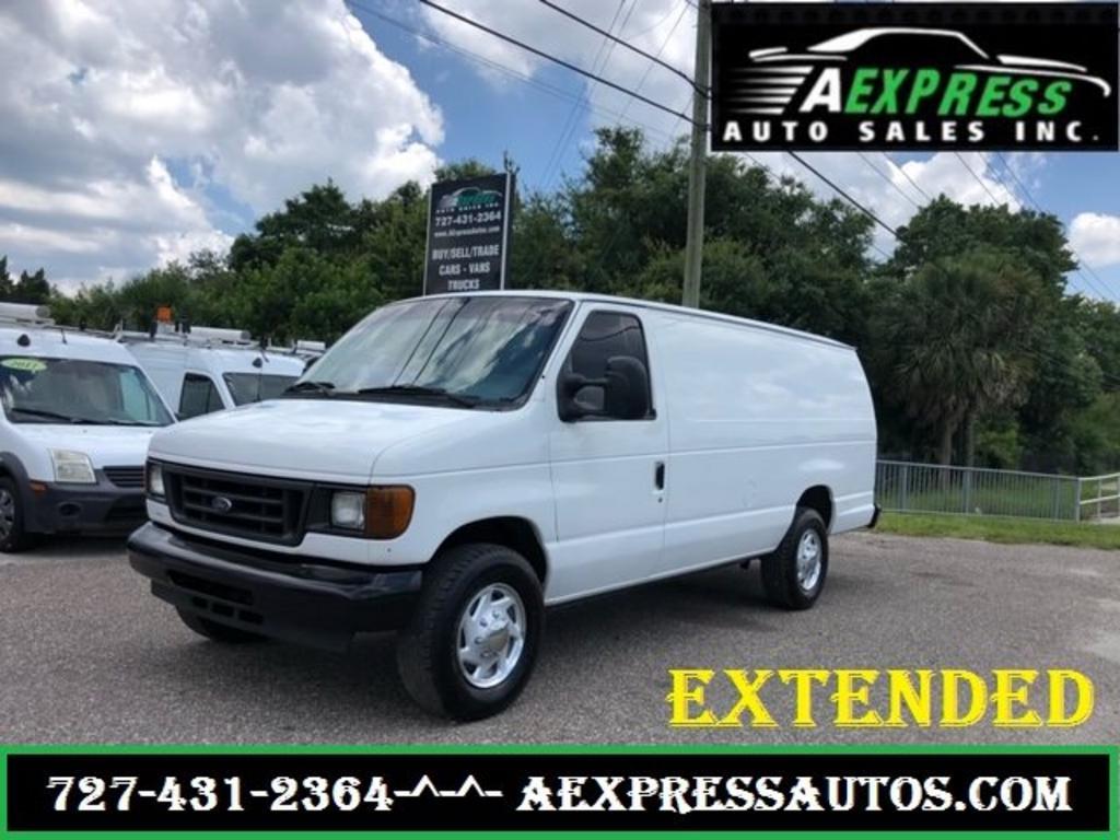 2007 Ford E350 Vans - 28824   A Express Auto Sales, Inc